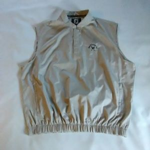 men's FootJoy pullover sleeveless jacket